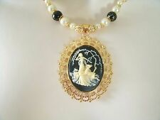 Goddess Diana Necklace, wiccan pagan wicca witchcraft witch magic handfasting