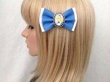 Alice in wonderland hair bow clip rockabilly pin up girl Disney vintage retro