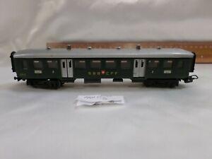 Marklin 4015 HO SBB Passenger Coach