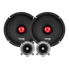 """DS18 PRO-X8.4BMPK 550 W Max 8"""" Midrange Component Car Audio Speakers System"""