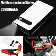 20000mAh USB Auto Jump Starter Power Bank Starthilfe Ladegerät LED 12V Booster
