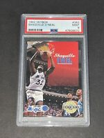 1992 Skybox #382 Shaquille O'Neal PSA 9 Newly Graded RC Rookie not SGC BGS