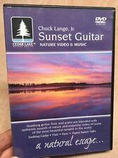 Sunset Guitar:Nature Video & Music-Chuck Lange Jr(UK DVD)Cedar Lake Series