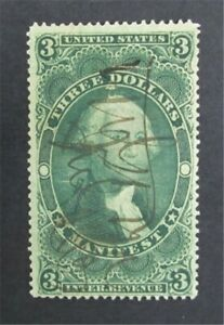nystamps US Revenue Stamp # R86c Used         O8y1504