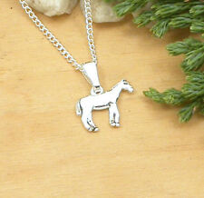 HORSE EQUESTRIAN JEWELLERY - SILVER HORSE NECKLACE