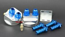 "Oil Filter Relocation Kit M20 X P1.5 & 3/4""-16 UNF 10AN Male  5/8"" Barb Fitting"