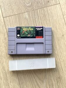 Super Nintendo SNES Secret of Mana Cartridge Only w/ Sleeve Tested & Working