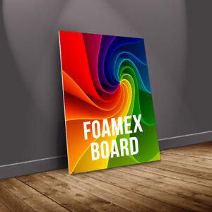FOAMEX Board Printing Shop Sign Exhibition Display Outdoor/Indoor Rigid 5mmThick