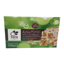"Turkish Delight ""TARIS"" les loukoums 250 vert (mastic Pistachio fruits"