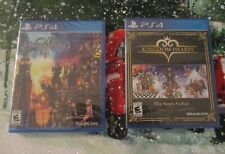 PS4 NEW Game lot DISNEY Kingdom Hearts Collection Story So Far & III Sealed