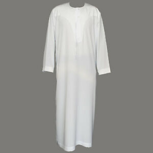 Ikaf Omani Thobe for Men, A genuine arabian Jubbah, Quality Islamic Clothing