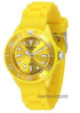 Madison New York L4167-02 MINI Gelb Damen Junge Mädchen Uhr Silikon Unisexuhr