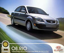 2008 Kia Rio sedan/Rio5 hatchback new vehicle brochure