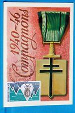 COMPAGNONS DE LA LIBERATION   FRANCE CPA Carte Postale Maximum  Yt 1797 C