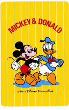 Playing cards swap cards Mickey Mouse Donald Duck Japanese Nintendo Disney