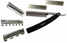 Professional Hair Thinning, Cutting Razors 4 Hairdressers Barbers ThR3 +3 Combs