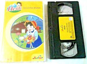 Heidi Die ersten Blumen Children's VHS Video Cassette German