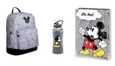 Disney Bundle Mickey Mouse High-School BackPack Bag Binder Bottle