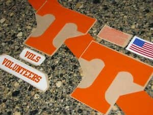 TENNESSEE VOLUNTEERS Football Helmet Decal Set FULL Size 3M 20MIL