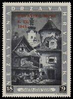 ✔️ CROATIA 1943 - RED OVERPRINT - SC. B41 ** MNH OG [CR117]