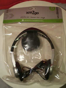 Xm SATELLITE RADIO X2glhp01 ANTENNA HEADPHONES 828591999011 Xm2go Unopened MIP