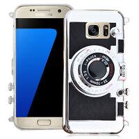 Housse Coque Silicone TPU Video appreil photo Samsung Galaxy S7 G930F/ G930FD