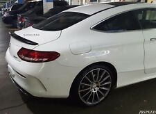 MERCEDES BENZ AMG Style painted Trunk SPOILER PER c205 COUPE