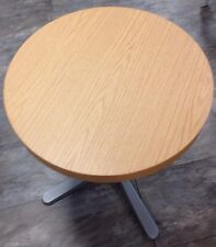 GO IN Tischplatte Platte rund 60 cm, Farbe Eiche, PI0060EI, Innenbereich