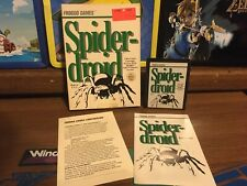 Spiderdroid Boxed Game (Atari 2600, 1983) ToysRus Copy With Labels