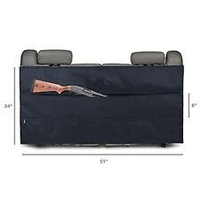 Bottom Back Seat Organizer Shotgun Rifle Gun Case Holster Sling Organizer Black