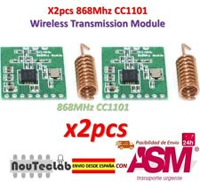 2pcs CC1101 868MHz Wireless Module Long Distance Transmission with Antenna