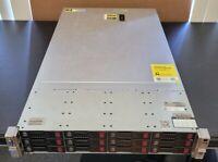HP DL380p G8 Gen8 12 LFF 2xE5 2620 v1 NO RAM No HDD 12 tray H220 9205-8i IT mode