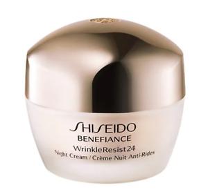 Shiseido BENEFIANCE WrinkleResist24 Night Cream. 1.7oz/50 ml