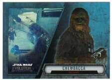 2016 Topps Star Wars Evolution Trading Card #57 Chewbacca Mechanic