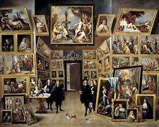 The Archduke Leopold Wilhem by David Teniers Old Masters 13x16 Art Print