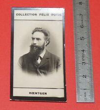 PHOTO IMAGE FELIX POTIN 1er ALBUM 1885 W. RÖNTGEN PHYSICIEN ALLEMAGNE RAYONS X