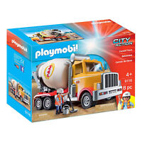 Playmobil City Action Cement Truck Building Set 9116 NEW IN STOCK