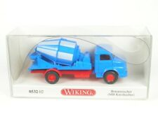 Mercedes-Benz short Hood Cement Mixer (Blue/White) 1:87 - WIKING