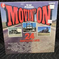 K-Tel Presents Movin' On Vinyl Record Album New Sealed Excellent D3