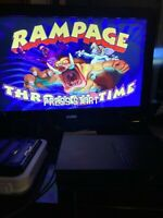 Rampage Through Time (Sony PlayStation 1, 2000) PS1 Game Complete And Tested
