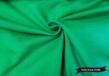 Sweat Stoff Baumwolle, grün, angeraut, Stoffe Meterware, Kinderstoffe