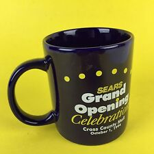 Vtg 90s Sears Grand Opening Celebration 1998 Cross County Mall Mattoon IL Blue