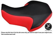 BLACK & RED AUTOMOTIVE VINYL CUSTOM FITS SUZUKI LT 80 1987-2005 SEAT COVER ONLY