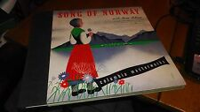 SONG OF NORWAY IRRA PETINA 78 RPM 3 RECORD ALBUM SET