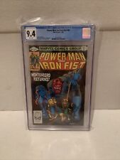 Powerman And Iron Fist #80 CGC 9.4 Marvel 4/82🔥🔥 White Pages