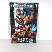 MARVEL, THE ULTIMATES 2, Gods & Monsters, Superhero Graphic Novel DC Comics