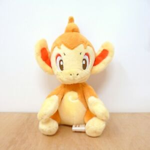 Official Pokemon Center 2011 - Chimchar Canvas Plush Soft Toy Japan Import 6""