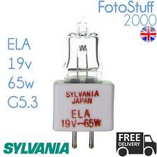 Ela 19v 65w G5.3 Sylvania 7038 02380 | Lámpara De Proyector / Lámpara