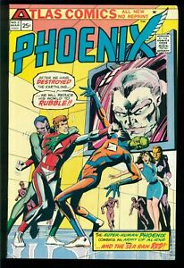 PHOENIX #2, 1975, ATLAS SEABOARD COMICS, ORIGIN 1ST APPEARANCE PHOENIX, NM- 9.2!