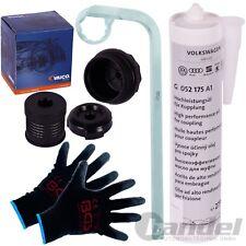 VAICO hydraulique Haldex Boîte de vitesses filtre + OE huile Vw Golf 4 4 Motion Audi TT Quattro
